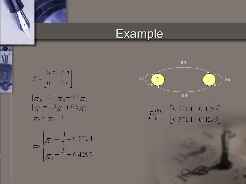 Example 01 0.4 0.3 0.6 0.7
