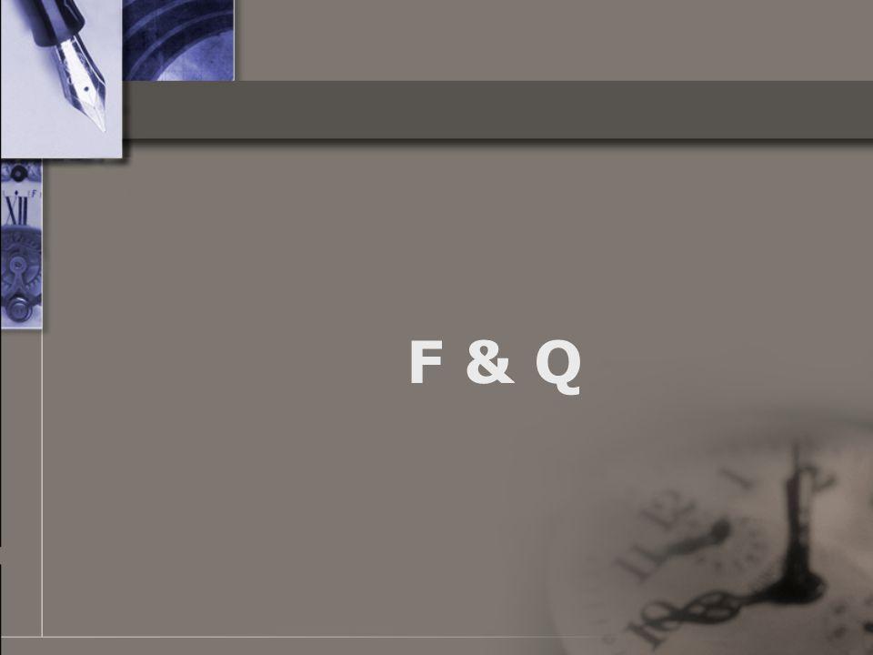 F & Q