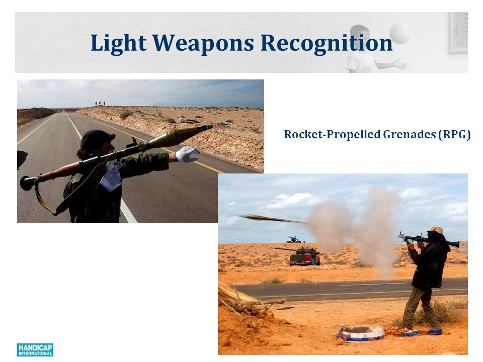 Light Weapons Recognition Anti Aircraft Missile