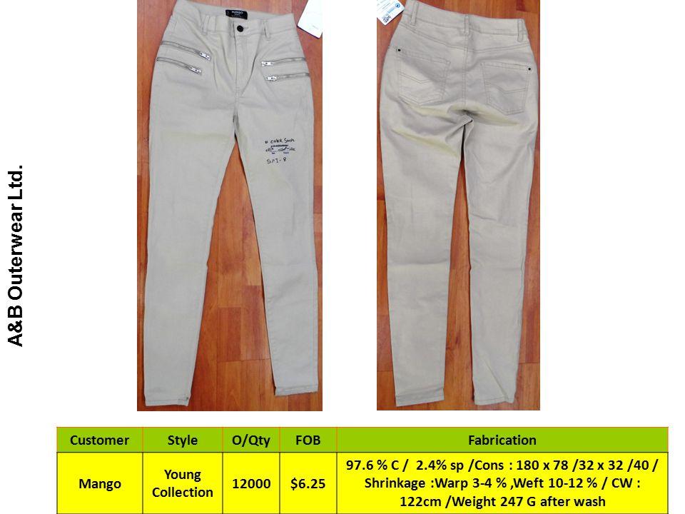 A&B Outerwear Ltd.