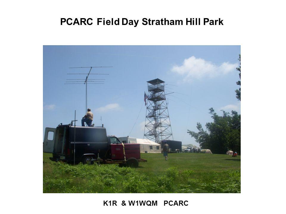 PCARC Field Day Stratham Hill Park K1R & W1WQM PCARC