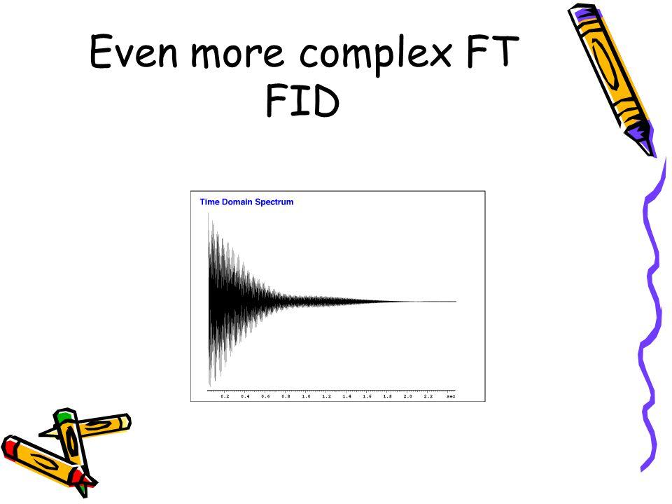 Even more complex FT FID