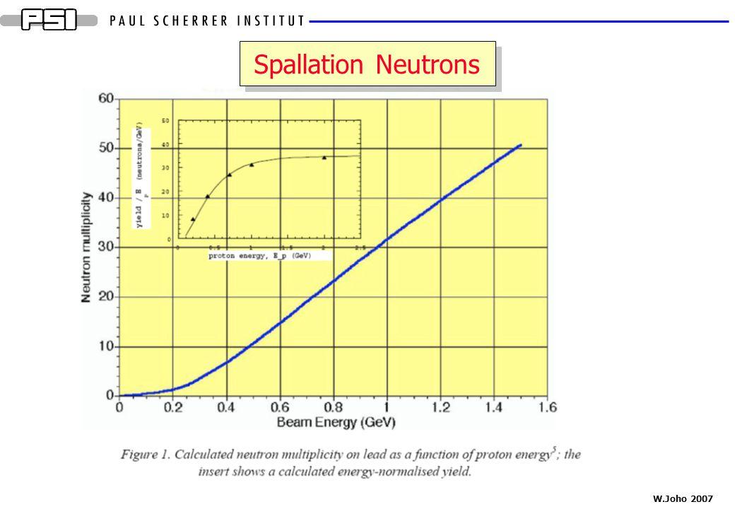 W.Joho 2007 Spallation Neutrons