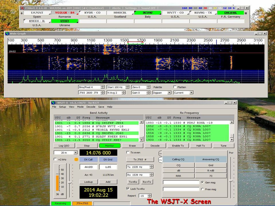 The WSJT-X Screen