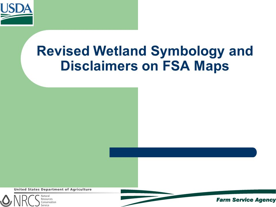 Green Square Symbol – Exempt from Wetland Compliance Restrictions  Represents these wetland determinations:  PC – Prior Converted  NW – Non Wetland  PC/NW – Prior Converted/Non-Wetland  CC – Commenced Conversion  NW/NAD – Non Wetland, NAD Decision  AW – Artificial Wetland