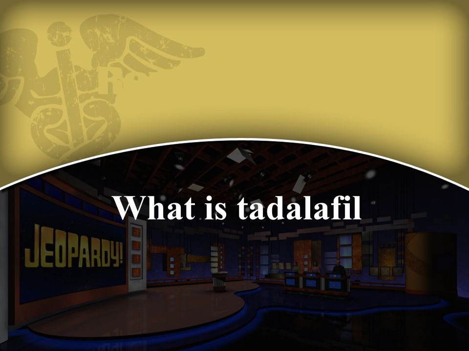 What is tadalafil