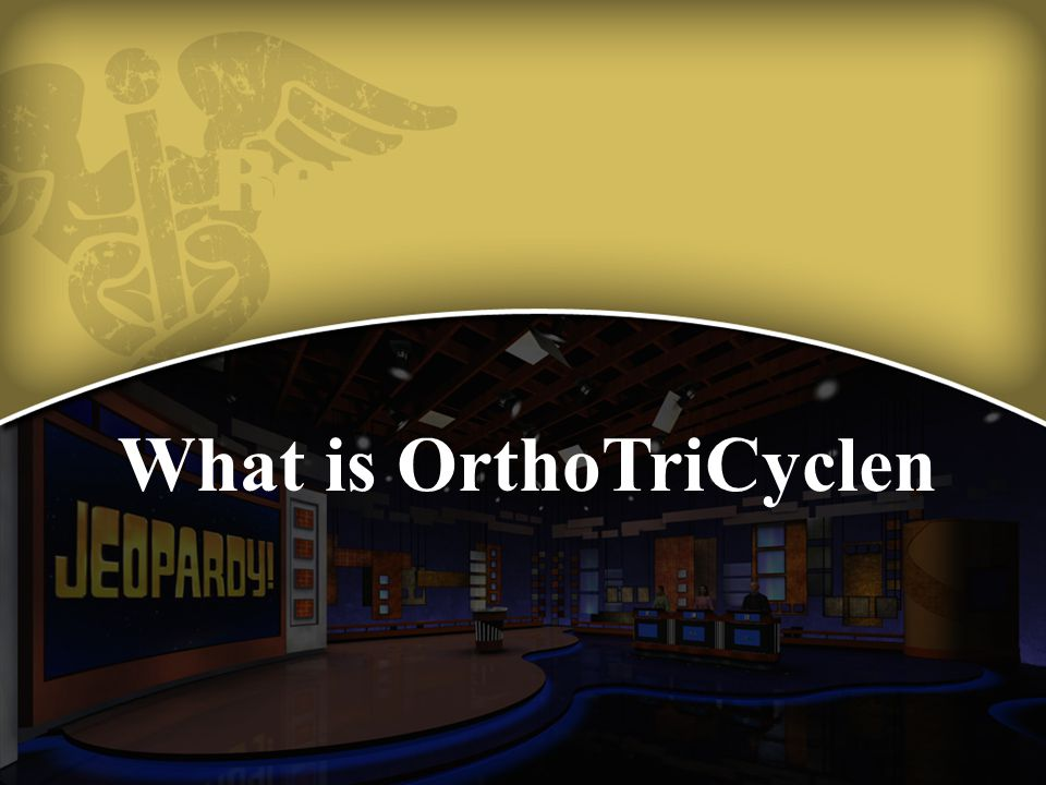 What is OrthoTriCyclen