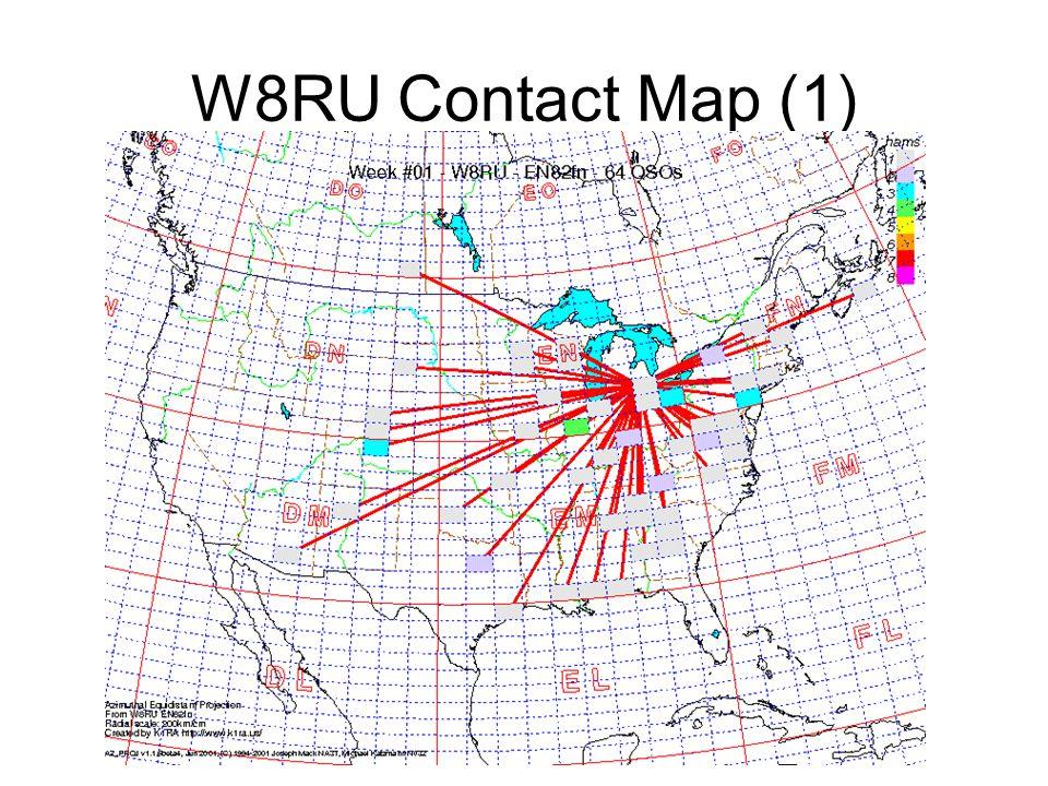 W8RU Contact Map (1)