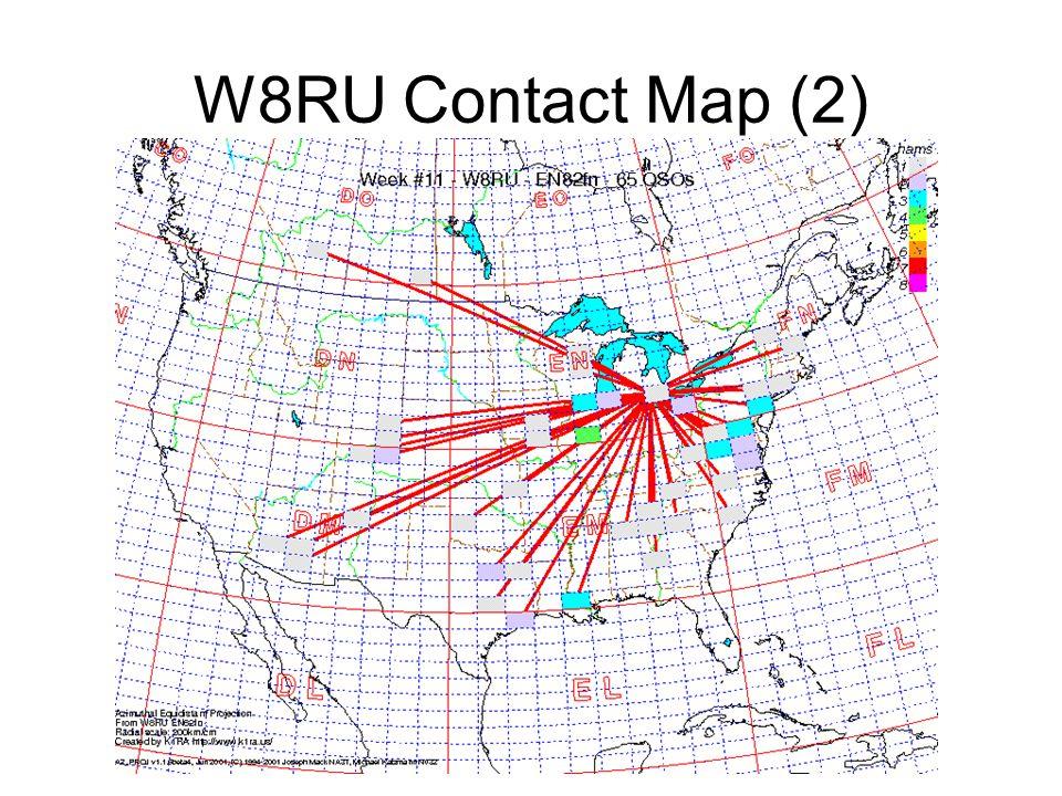 W8RU Contact Map (2)