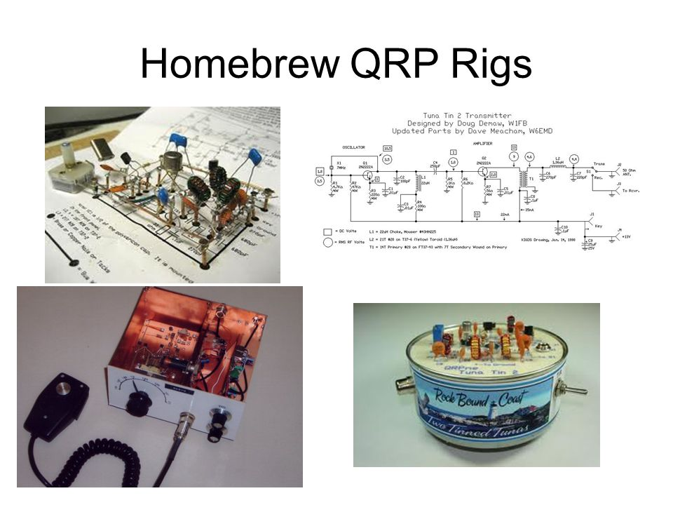 Homebrew QRP Rigs