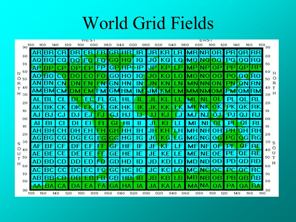 World Grid Fields