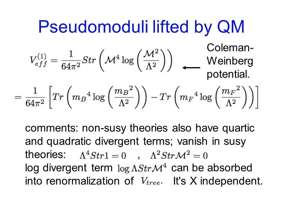 Pseudomodulus lifting in O R.