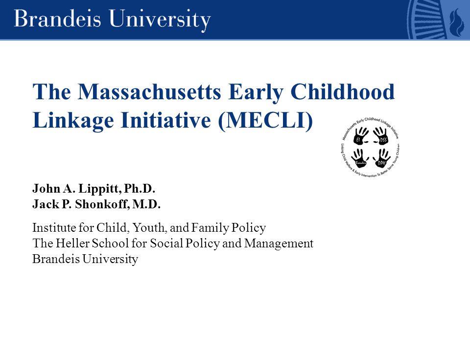 The Massachusetts Early Childhood Linkage Initiative (MECLI) Project funders U.S.