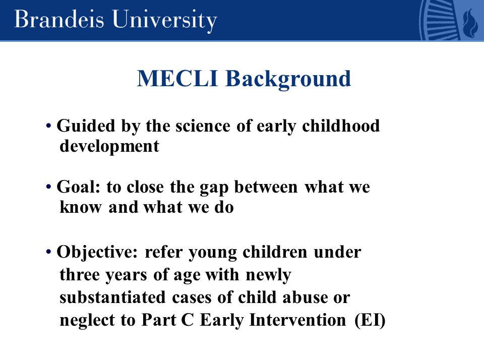 From Neurons to Neighborhoods: The Science of Early Childhood Development Committee on Integrating the Science of Early Childhood Development Board on Children, Youth, and Families National Research Council and Institute of Medicine Jack P.