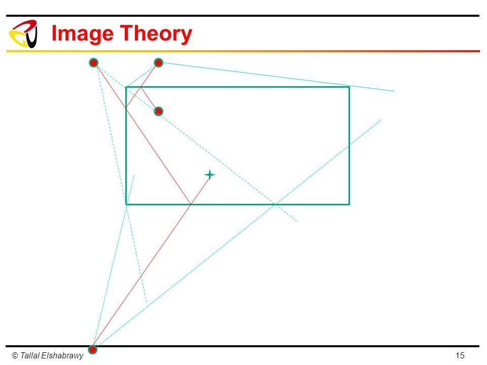 © Tallal Elshabrawy Image Theory 15