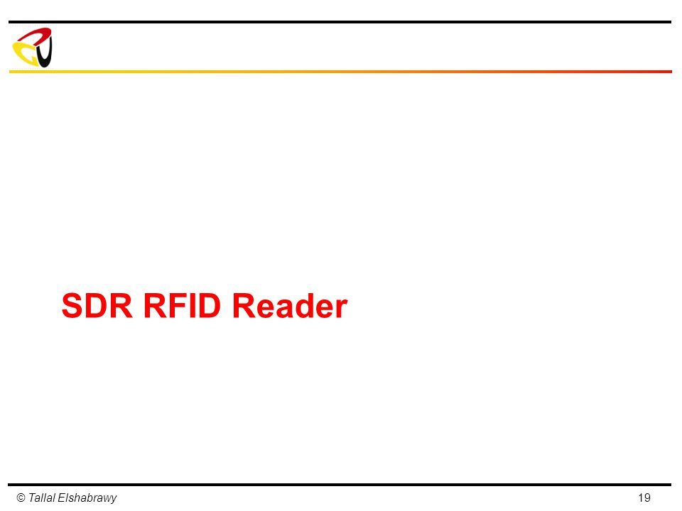 © Tallal Elshabrawy SDR RFID Reader 19