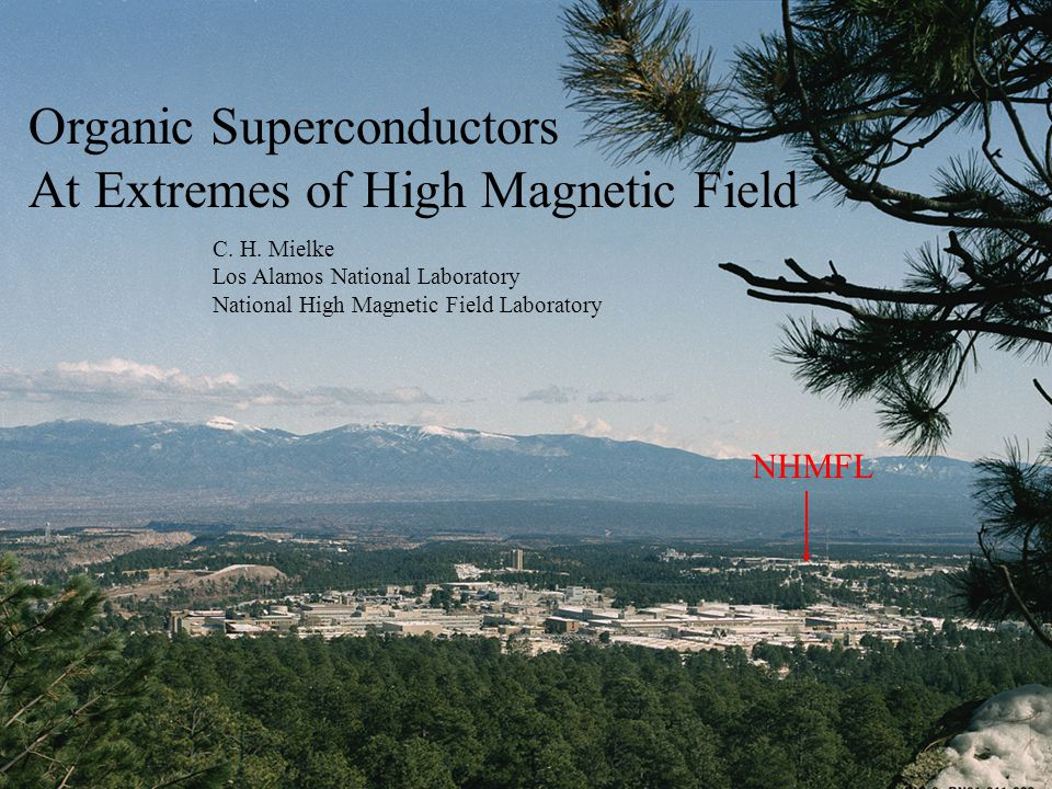 Organic Superconductors At Extremes of High Magnetic Field Organic Superconductors At Extremes of High Magnetic Field C.