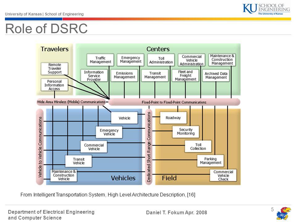 University of Kansas | School of Engineering Department of Electrical Engineering and Computer Science Daniel T.