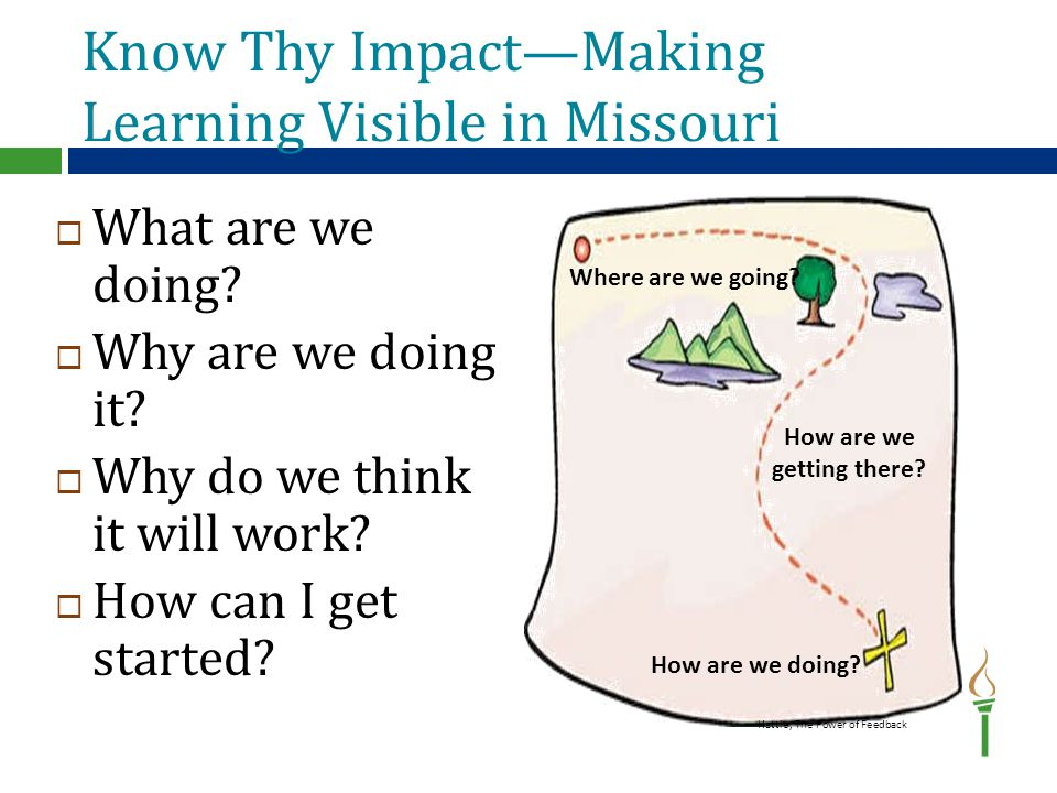 Department Vision  The vision of the Missouri Department of Elementary and Secondary Education is to be one of the Top 10 states in performance outcomes by the year 2020.