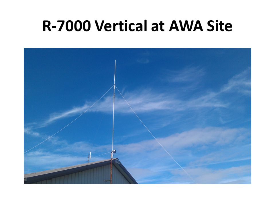 R-7000 Vertical at AWA Site