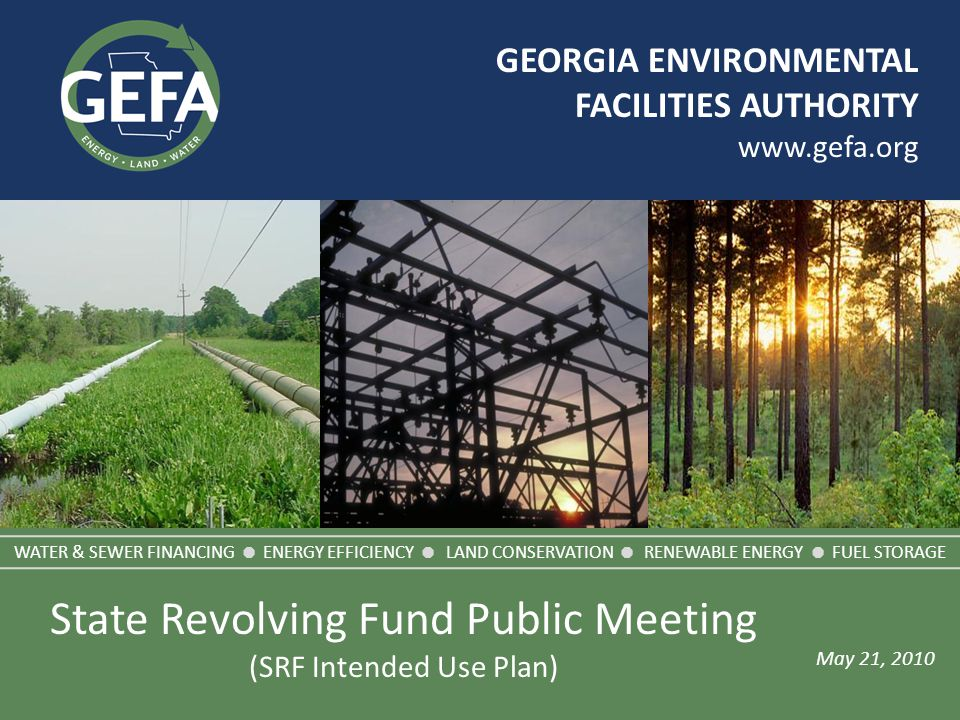 Green (CW) Funding List – Tier 1 www.gefa.org