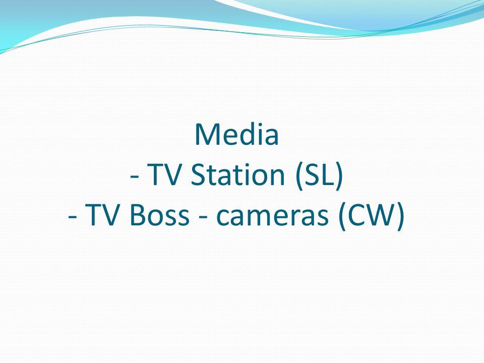 Media - TV Station (SL) - TV Boss - cameras (CW)