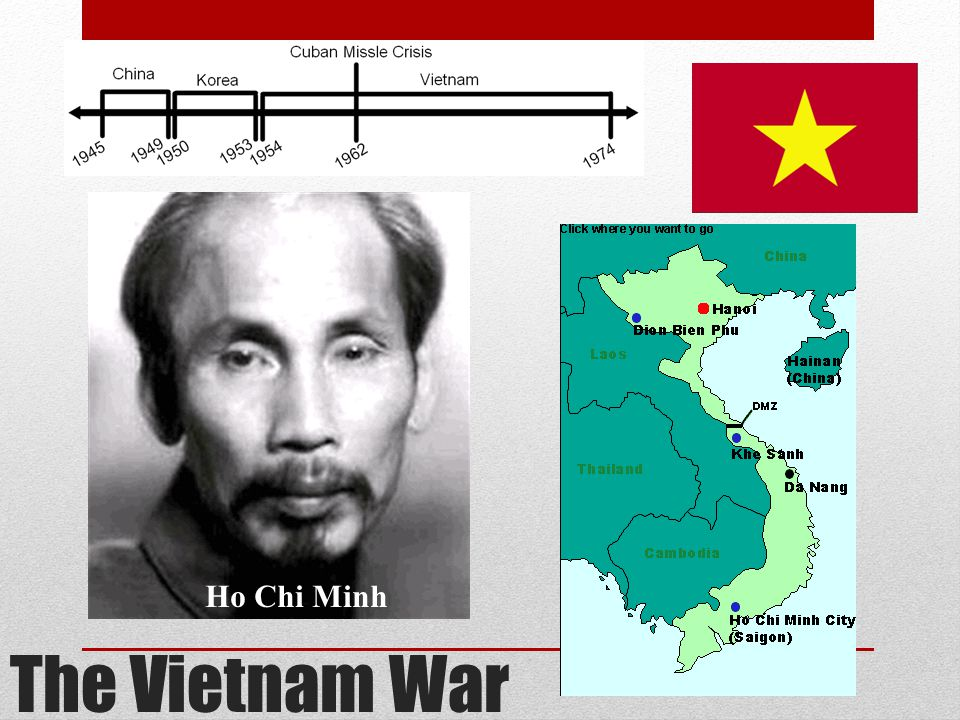 Ho Chi Minh The Vietnam War