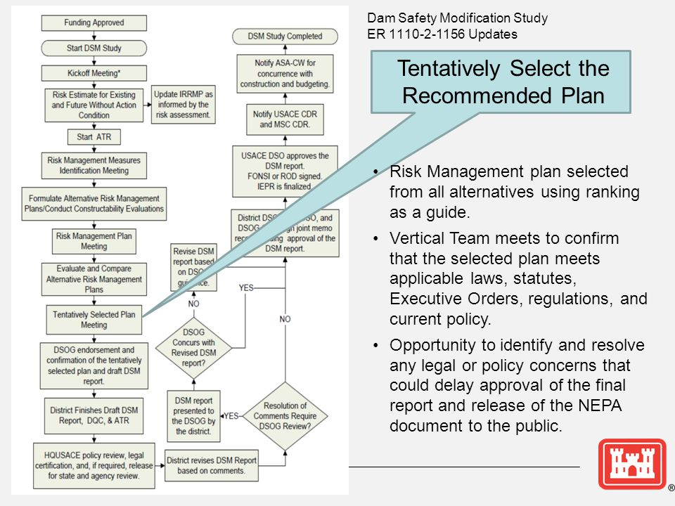 Tentatively Select the Recommended Plan Risk Management plan selected from all alternatives using ranking as a guide.