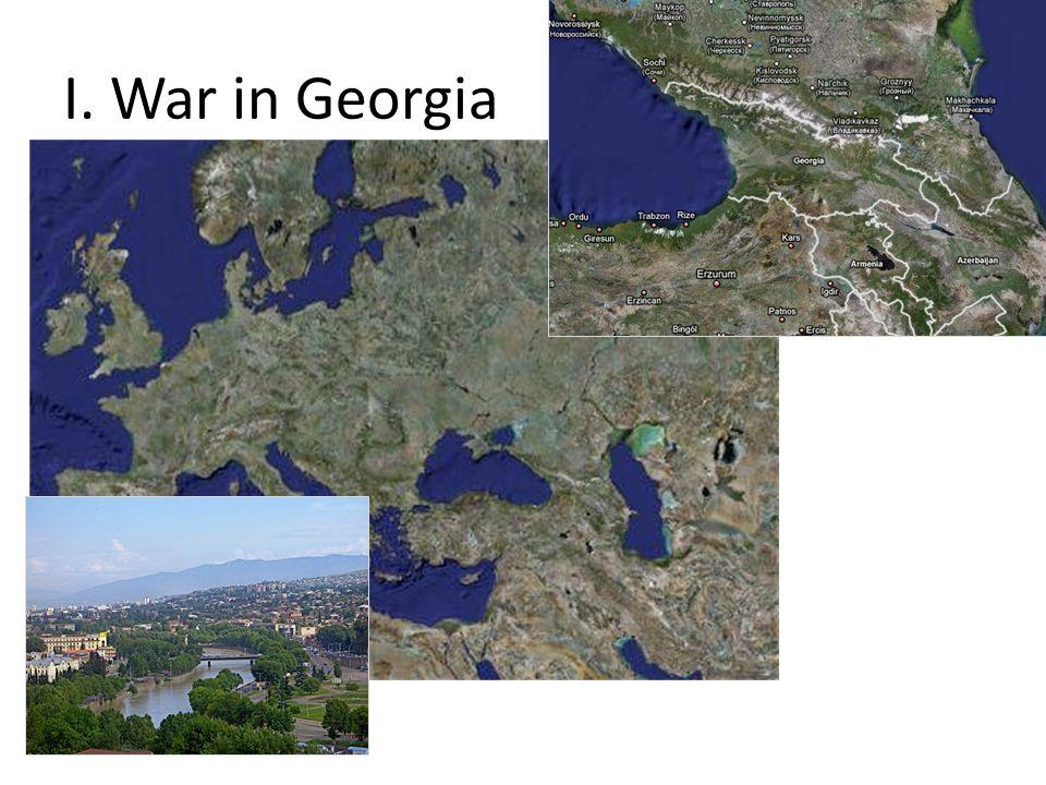 I. War in Georgia