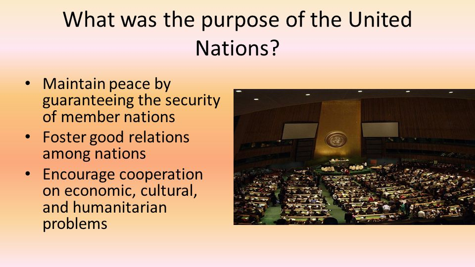 How is power divided within the UN.