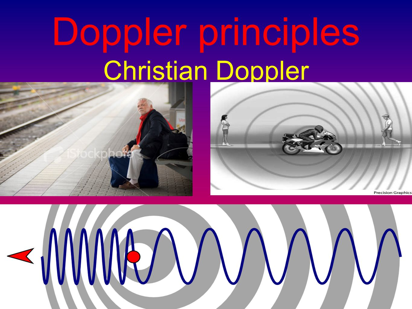 The difference between the emitted frequency and the received frequency is called: Doppler shift (fd ) Blood flow V = fd × c/2 × f0 × cos α For practical application in Doppler echocardiography: the emitted frequency (f0) is known and the velocity of sound (c/2) is constant at 1540 m/s.