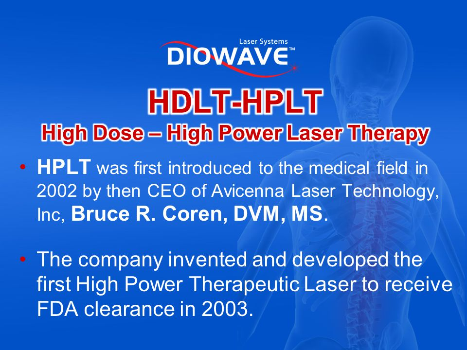 High Power Therapeutic Lasers take a high amount of laser energy but instead of beam collimation you get beam divergence resulting in tissue stimulation