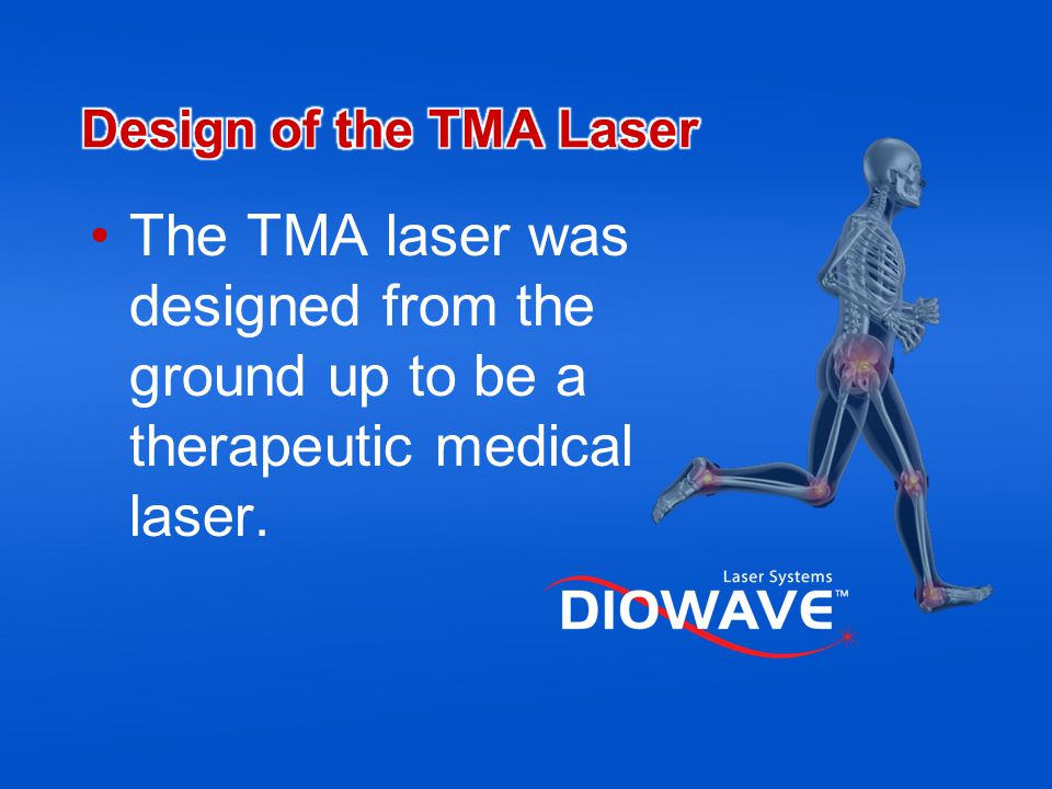 The shorter the wavelength, the more readily the energy is absorbed in the body.