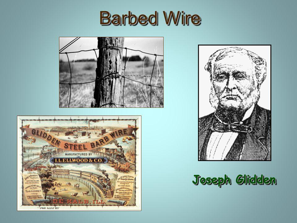 Barbed Wire Joseph Glidden