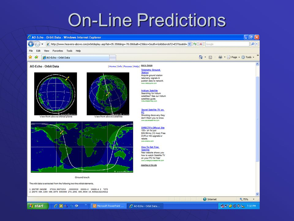 On-Line Predictions