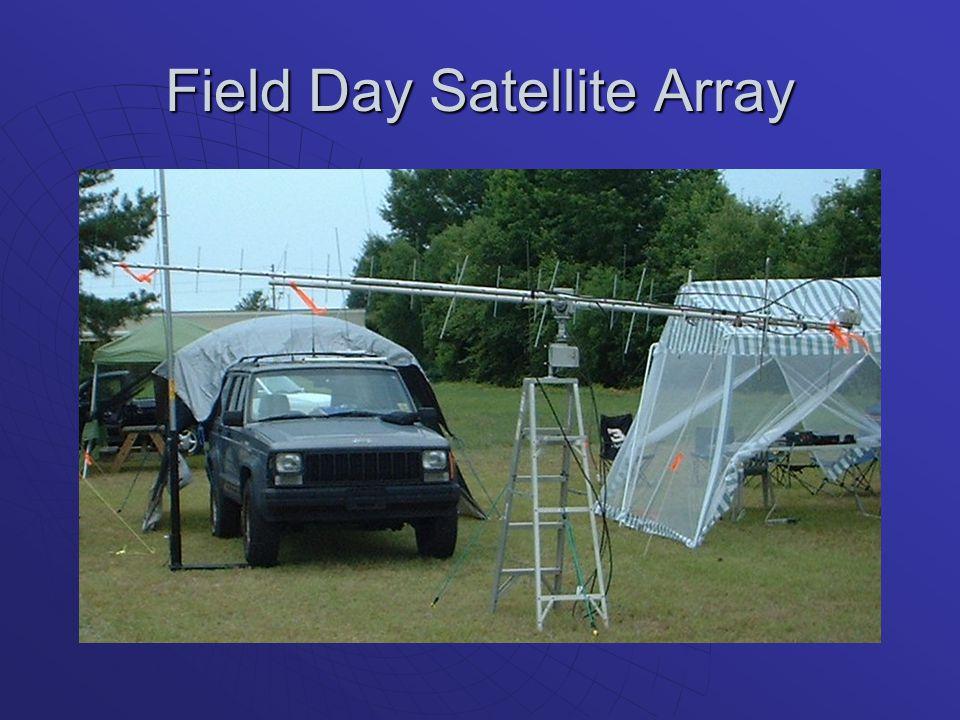 Field Day Satellite Array