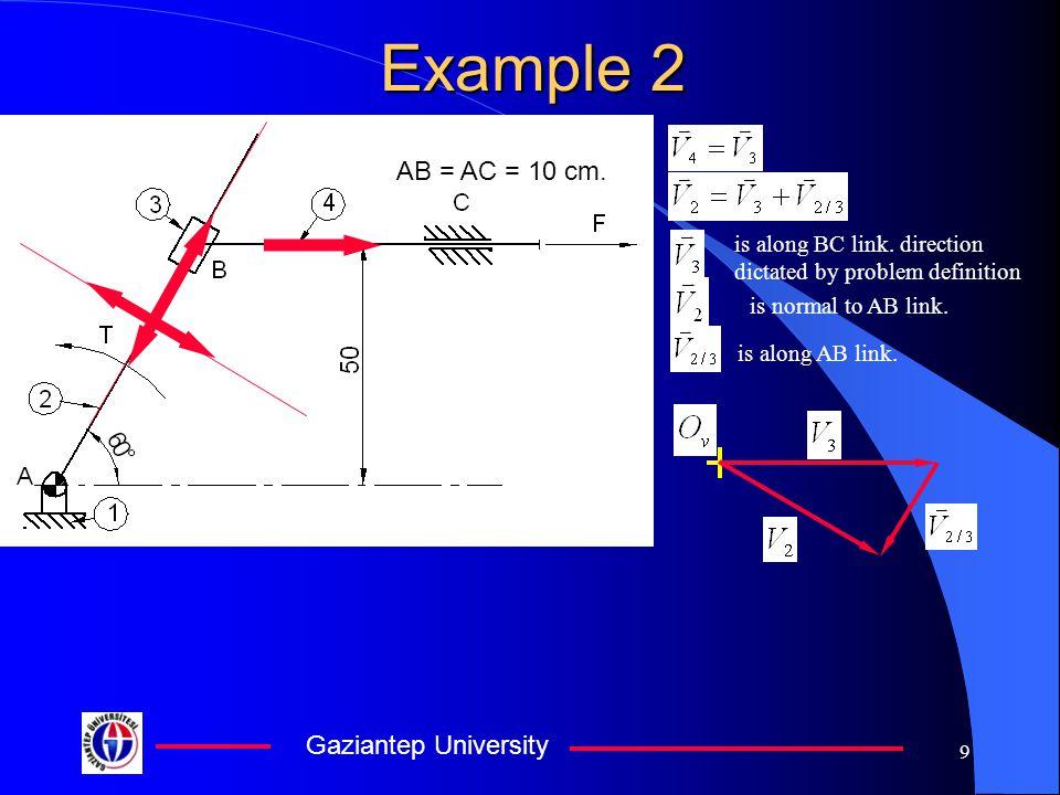 Gaziantep University 10 Example 2 3 2 x y +