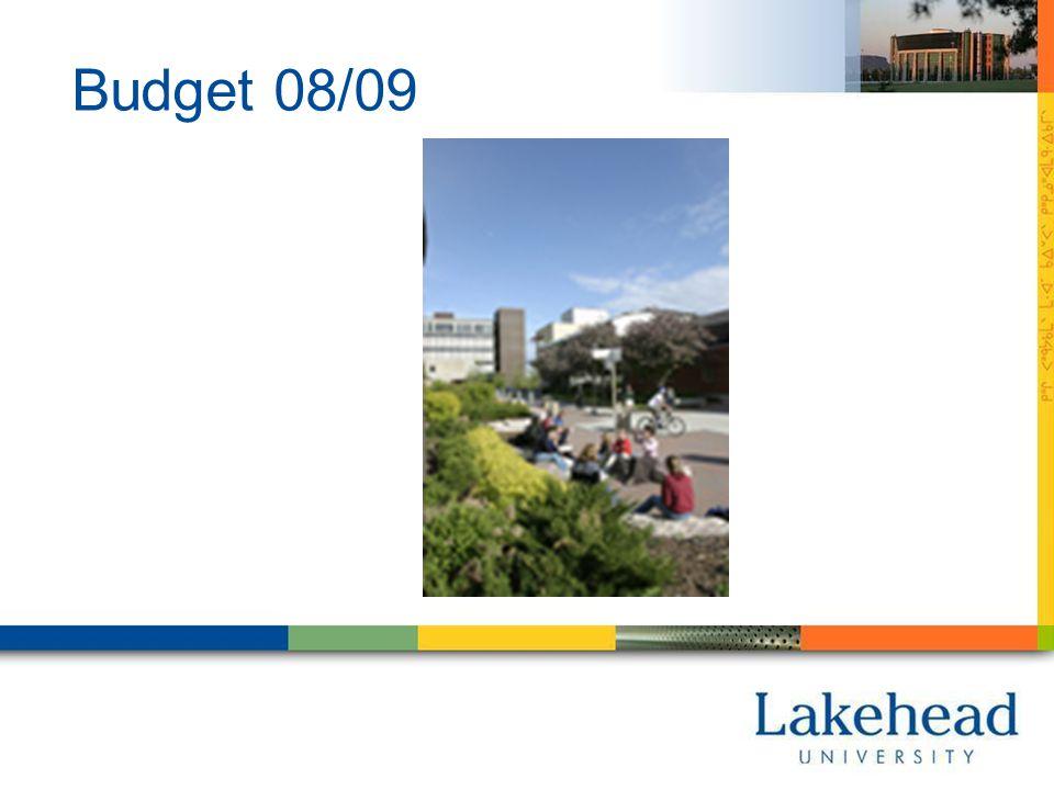 Budget 08/09