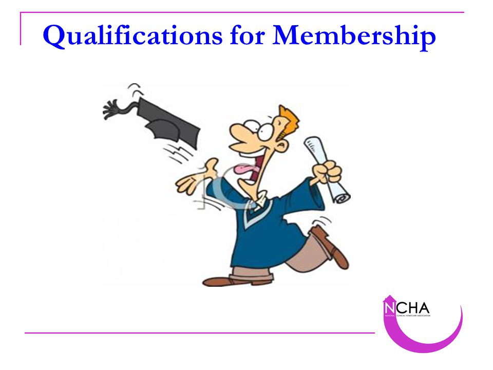 Qualifications for Membership