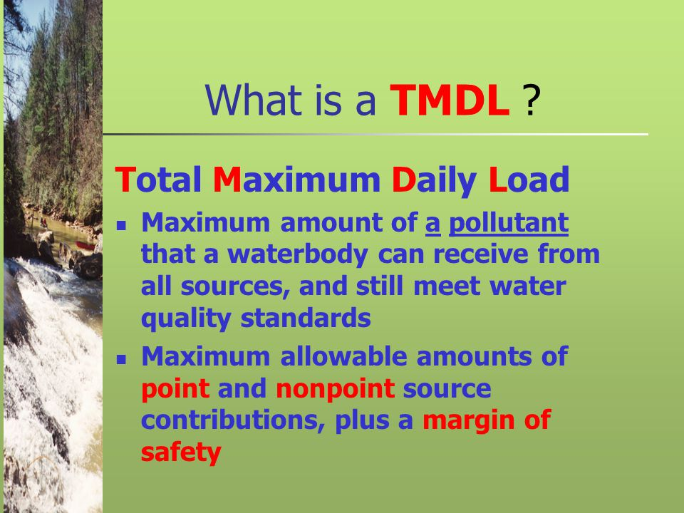What is a TMDL .