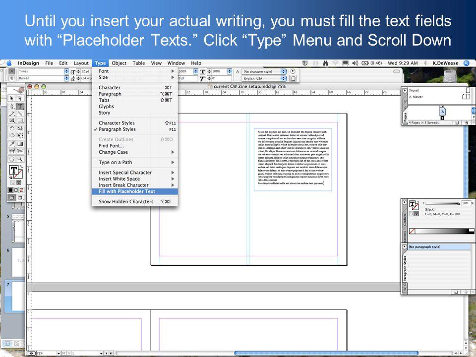 Text Columns