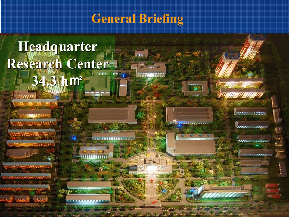 General Briefing New Development Zone Industrial Production Base 66.6 h ㎡
