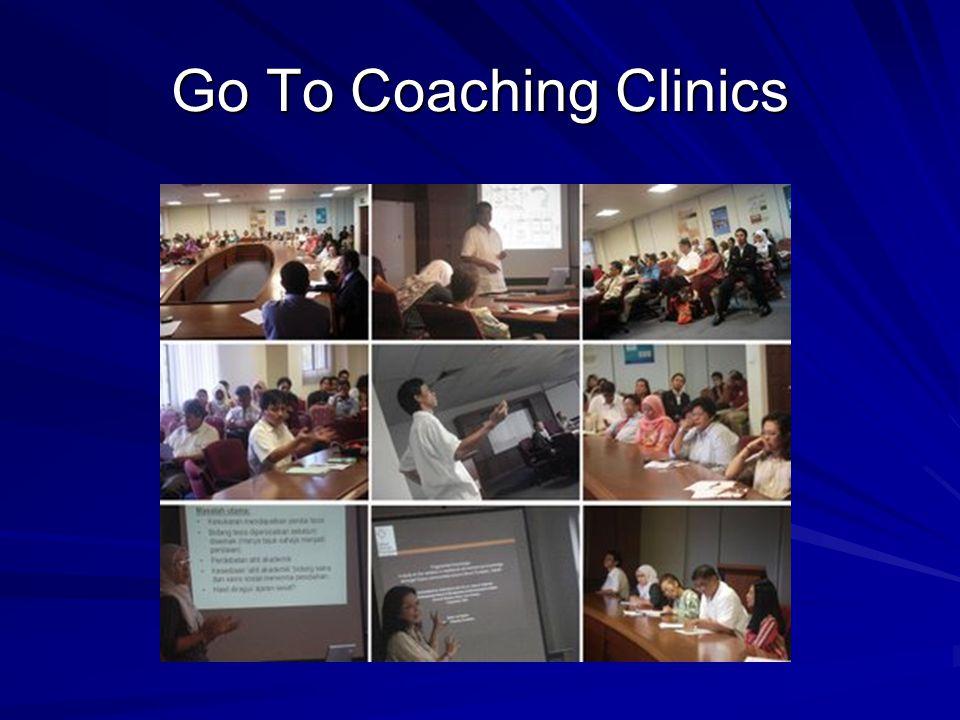 Go To Coaching Clinics