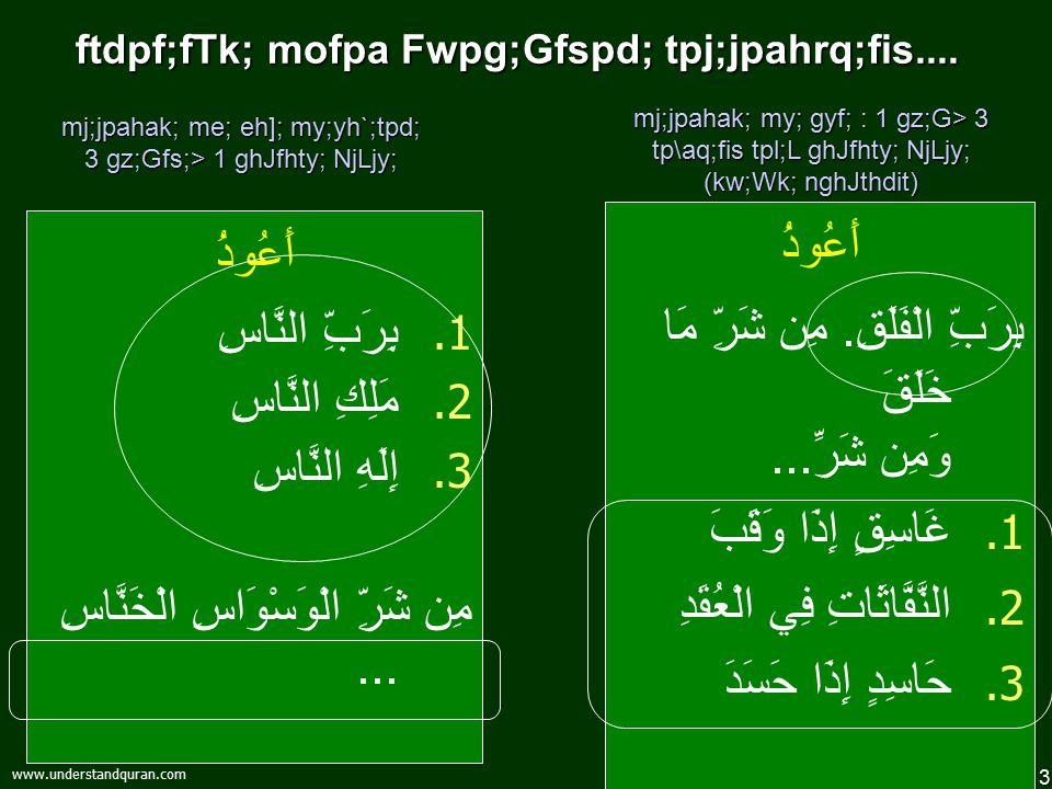 13 www.understandquran.com ftdpf;fTk; mofpa Fwpg;Gfspd; tpj;jpahrq;fis....