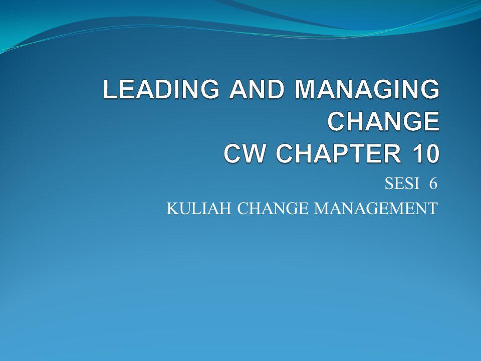 SESI 6 KULIAH CHANGE MANAGEMENT