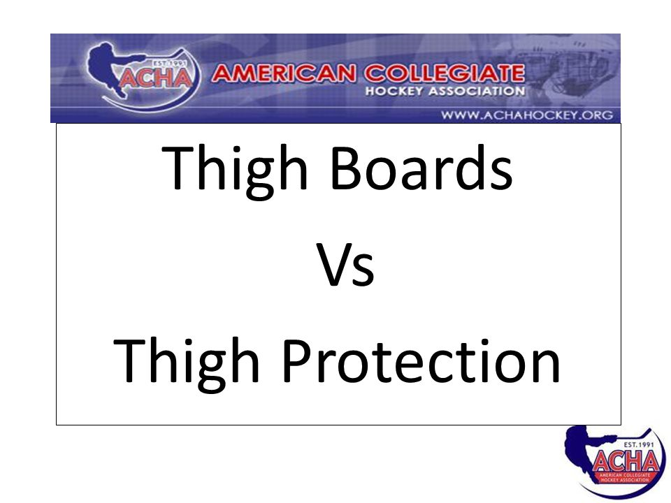 Thigh Boards Vs Thigh Protection