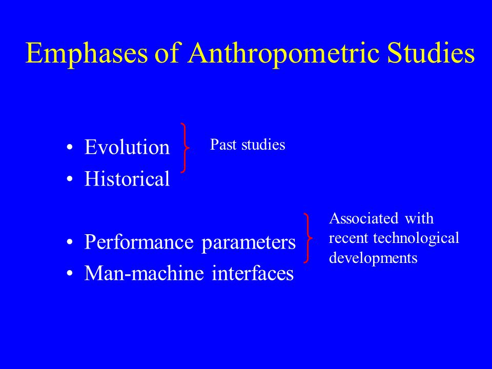 What are some examples of anthropometric measurements?
