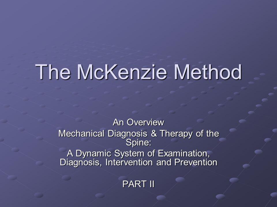 Objectives Evaluation of Clinical Exam PrognosisInterventions Treatment Principles Treatment Principles Force progression Force progression ReEval/Intervention Progression