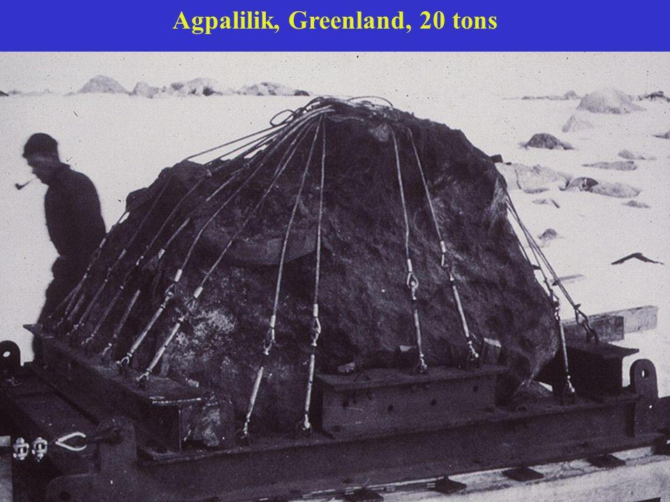 Agpalilik, Greenland, 20 tons