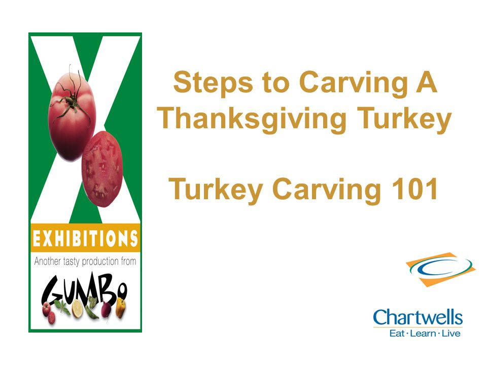 Steps to Carving A Thanksgiving Turkey Turkey Carving 101